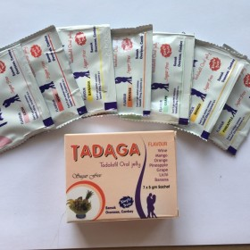 TADAGA Tadalafil Oral Jelly